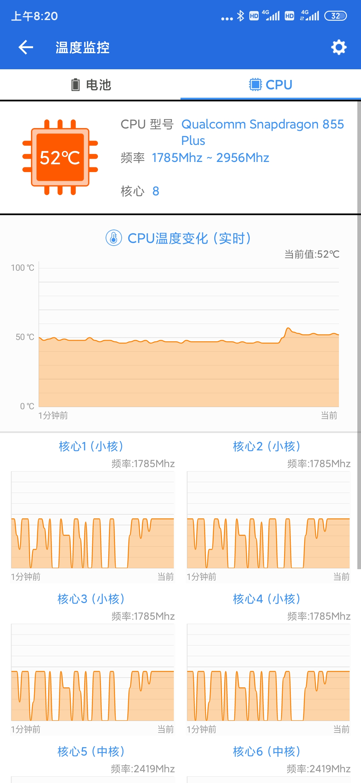 温度 cpu